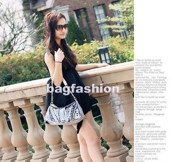 ladies handbags fashion Korea Elegant Sequins Bowknot with Chain Shoulder Bag metal purse handbag frames 7290