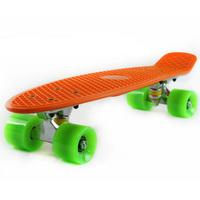 "Free Shipping Retro Plastic 22"" Penny Skateboard Cruiser Penny Boards 70's (Penny) Complete Mini Longboard Skate Board"
