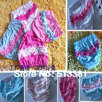 12pcs/lot Children Panties Girl Underwear Lace Kid Pants 100% cotton Free Shipping