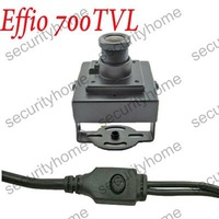Mini 2.8mm Wide Angle Sony Effio-E HD 700TVL Security CCTV camera System free shipping