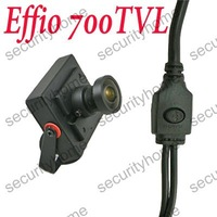 Mini 2.1mm Wide Angle Sony Effio-E 700TVL Security Video CCTV camera OSD Menu