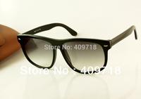 New Style Designer Sunglass Men's/Women's Fashion 4147 Black Sunglass Grey Gradient Lens 60mm