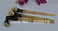 L051  Tibetan natural ox horn big long Tabacco Pipe and Cigarette Holder,18cm long,gift for man