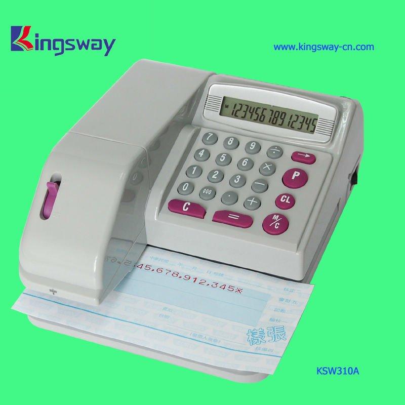 Classical and Nice check writing machine (ksw310)(China (Mainland))
