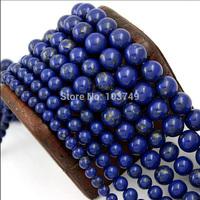 Natural Stone Beads Tourmaline Semi Precious Cabochon Quartz Lazuli Karma Spacer Beads Blue Loose Bead for Men Jewelry HA835