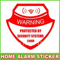 100%waterproof Alarm Warning Sticker Decal for Home Security Burglar Alarm System