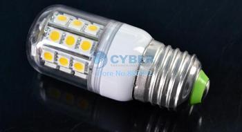 E27 SMD5050 30 LED Light Bulb Lamp Warm White 200-240V 360 degree Led Lighting Free Shipping
