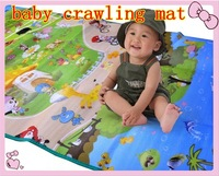 Free shipment  90*180CM baby crawling pad child play mat double faced creepiness blanket baby climb a pad