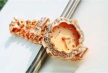 EVSHSB 39 Top Quality fashion jewelry gold Women quartz watch with diamond luxury watches nice present