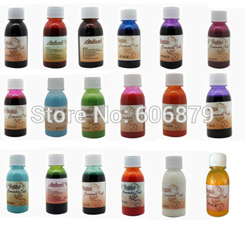 3 Bottles Temporary Airbrush Tattoo Common ink 100ML/bottle 18 Colors to choose~FREE SHIPPING for glitter tattoo kits supplies