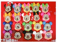 20pcs/lot Lovely Children Gifts Mickey Minnie Sponge Bob Slap Silicon Bracelet Watch New Whole Hot Sale Free Shipping (NBSLMNS )