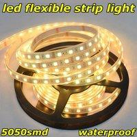 Christmas, led 5050 flexible strip light,warm white,300pcs,12-14lm/led,sleeving waterproof,DC12V,IP67,14.4W/m,5m,CE&RoHS