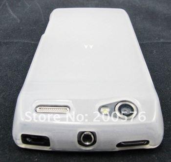High Gloss Soft Skin Gel TPU case for Motorola Razr V MT887 XT887 Electrify 2 500pcs
