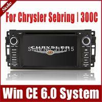 2-Din Car DVD Player for Chrysler Sebring 300C with GPS Navigation Radio TV BT USB SD AUX Map 3G Auto Audio Video Stereo Sat Nav