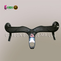 FREE SHIPPING, CINELLI RAM 2 BIANCA carbon integrated handlebar,400mm*90/100mm;420mm*100/110/120mm