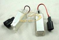 LED door Light Lamp for Audi A2 A3 A4 A5 A6 A8 Q5 Q7 R8 VW Phaeton Sharan Transporter Passat CC SEAT Alhambra