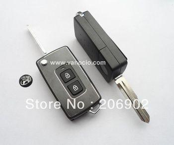 Hyundai Santa fe , Elantra 2 button modified remote key cover shell (right slot)
