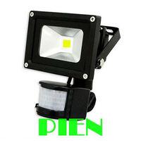 PIR Motion Sensor LED flood light Outdoor Spot lighting Waterproof 10W 20W 30W 50W induction lamp Free shipping 1pcs