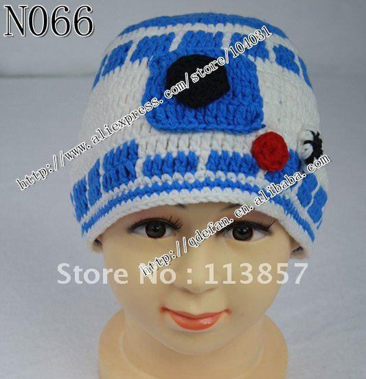 Free shipping (10/lot )100% cotton Crochet Star Wars ...