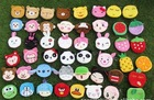 cute girls's coin wallets bags key bags fruits and animals coin purse 50pcs/lot free shipping  mix order(China (Mainland))