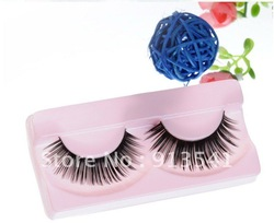 new product hand made false eyelashes high quaility synthetic hair fasle eyelashes wholesale OEM ODM(China (Mainland))