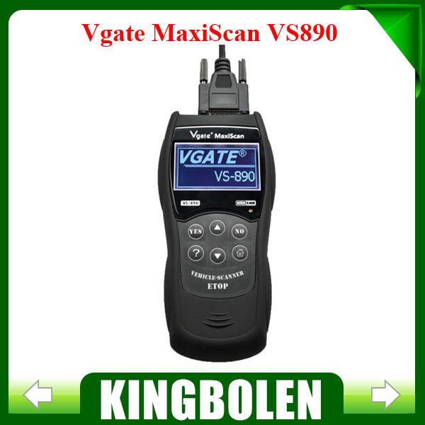 2015 New Arrival Vgate MaxiScan VS809 Code Reader Multi-language Auto Scantool VS-890(China (Mainland))