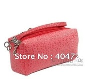 2014 Fashionable Multi Functional Women Day Clutch Bag Wallet Handbag Chain Bag Three Layer Zipper Free Shipping