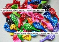 """GOOD QUALITY Free Shipping 12"""" 50pcs Polka Dots Printing Balloons,Latex Balloon Wedding, Birthday Decorations, Mixed Colors"""