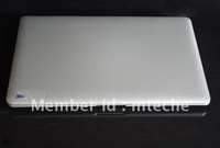 14.1 inch Window 7 OS Super Slim Laptop Notebook with D2500 1.8GHZ 2G DDR Memory 250G HDD