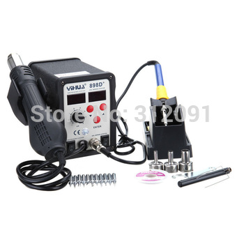 Ship From Germany ! Hot Air Solder Station Soldering Rework System with Bonus Tips