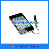 2000pcs/lot Capacitive Stylus Touch Pen For Iphone 4 3G 3GS (STP-I010) Dhl Free Shipping