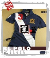 1FC290-Tt dark blue fasion high quality cotton SPORT casual All-match jockey polo rl with embroidery logo t-shirt