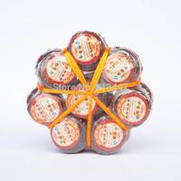 8pcs Orange Puerh Tea,2005 year Old Tree Puer,with Orange Fragrance,Good gift,Free Shipping