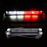 36W Strobe Lights With Suction Cups & Fireman Flashing Emergency Warning Car Light 3 Flashing Mode Free Shipping