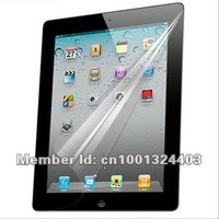 Wholesale 500pcs clear LCD screen protector film for ipad 2 3 4 free shipping DHL FEDEX