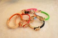 Big Promotion fashion letter T men women bangles 2014 gold bangle charm jewelry