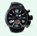 Free Shipping,  New  Luxury Men's Multifunction  52mm Military Automatic  Wrist Watch,Best Gift,
