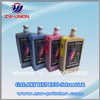 Original DX5-ECO Solvent ink  for galaxy UD-181LA 2112LA 2512LA printer ink Compatible with dx5 dx4 printhead