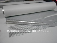 Light silver viod uncover leave word adhesive label, high temperature resistant label, waterproof