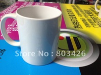 JETYOUNG Sublimation plain white ceramic coffee mugs wholesale for promotional and gift by Economy DHL