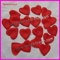 (2000pcs/lot) Free Shipping !! heart shape  heart shape rose Petals Flower Used Directly Wedding Banquet Decoration
