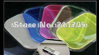 [Free shipping] 5pcs/lot Funny Powerful Silica Gel Magic Sticky Pad Anti-Slip Non Slip Mat for Phone PAD mp3 mp4 Car