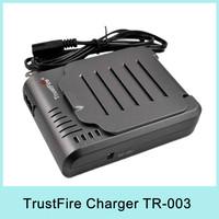 Hot Sale Trustfire 14500 16340 18650 Li-ion Battery Charger DC 4.2v 4x500mA output 4 channel LED indication US EU Plug TR-003