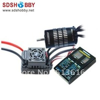 Hobbywing EZRUN Brushless System Combo (120A ESC +KV4700 Motor +Program Card) for 1/10 SCT/Scale Short Course Truck