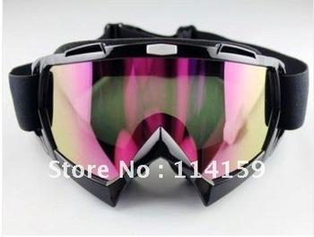 New Adult Motocross Dirt Bike ATV Off-Road Snowboard Goggle Eyewear Colored Lens
