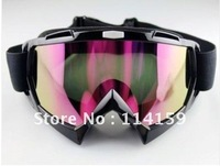 New Adult Motocross Dirt Bike ATV Off-Road Snowboard Goggle Eyewear Colored Lens
