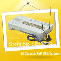 Free shipping 16 ports gsm voip gateway pbx phone system skype phone