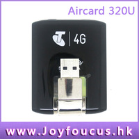Hong Kong post free shipping  Unlocked Aircard 320U Wireless USB 4G LTE Modem Mobile Broadband WCDMA Network Card