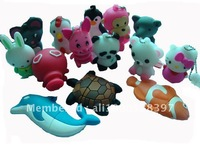 Animal series Fish USB Pendrives 2GB USB Disk 20pcs a lot Free shipping