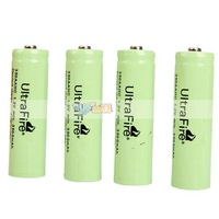 4Pcs/Set UltraFire AA Rechargeable Battery 1.2V 3500mAh Rechargeable Ni-MH Battery Free Shipping